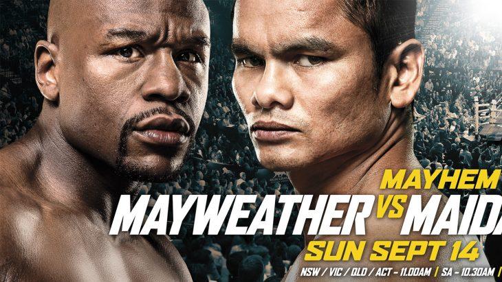 mayweather gegen Maidana Boxkampf