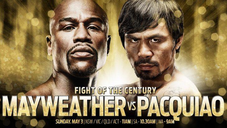 mayweather gegen Pacquiao Boxkampf