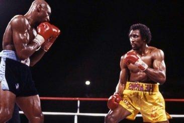 Hagler vs Hearns Boxkampf